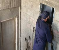 الحماية المدنية تنقذ سيدة محتجزة داخل مصعد في الجيزة