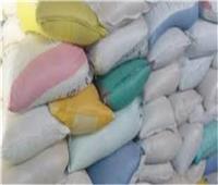 ضبط 7 أطنان أرز وسكر مجهول المصدر في الدرب الأحمر