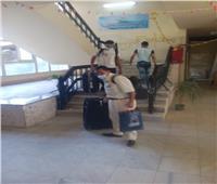 جامعة حلوان: انقضاء فترة الحجر الصحي للفوج الأول للعائدين من الخارج