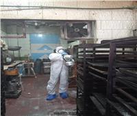 إغلاق مخبز بمطروح بعد اكتشاف إصابة أحد العاملين بفيروس كورونا