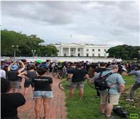إغلاق البيت الأبيض بسبب الاحتجاجات الغاضبة