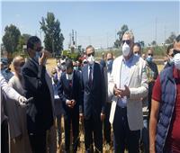 صور| وزير الزراعة يصل كفر الشيخ لبدء تفقد المشاريع الإنتاجية