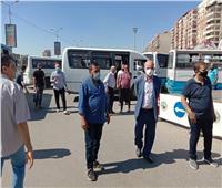 حي شرق شبرا الخيمة يبدأ تنفيذ غرامة عدم ارتداء الكمامة بالمواقف