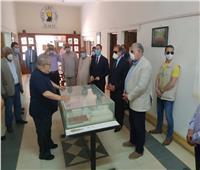 وزير الزراعة يتفقد ثلاجة حفظ التقاوي ومركز التلقيح الصناعي بكفر الشيخ