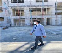 وزير الرياضة يتفقد مشروع إنشاء الصالة المغطاة بـ6 أكتوبر