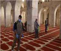 صور| هكذا يستعد المسجد الأقصى لاستقبال المصلين بدءا من الأحد