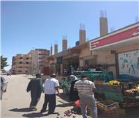 المغربي: حملة لرفع الإشغالات وإحكام الرقابة على الأسواق بسفاجا