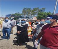 المغربي: حملات لمتابعة التزام مُرتادى مواقف السيارات بارتداء الكمامات بسفاجا