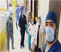 خروج10 حالات تعاف من كورونا من مستشفى العزل الصحي بإسنا