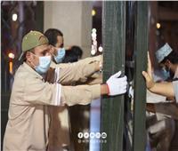 صور| ننشر اللحظات الأولي لفتح المسجد النبوي