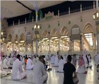 فيديو| «الصلاة خير من النوم» أول أذان من المسجد النبوي بعد إعادة فتحه واستقبال المصلين
