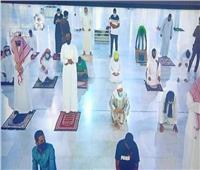 فيديو| صلاة الفجر الأولى داخل المسجد النبوي بحضور المصلين بعد انقطاع لأكثر من شهرين
