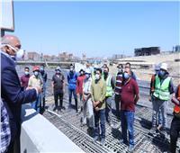 وزير النقل يتابع أعمال التطوير والصيانة الشاملة للطريق الدائري حول القاهرة