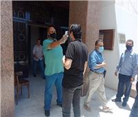 تطبيق الكمامات إجباري وتطبيق الغرامة على أبواب محافظة أسيوط