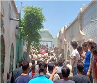 الآلاف يشيعون شهيد سيناء في جنازة شعبية بالمحلة