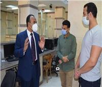نائب محافظ المنيا يتابع سير العمل بعدد من المشروعات ومراكز تقديم الخدمة