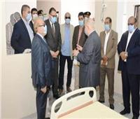 تجهيز مستشفى التأمين الصحي بالعاشر لاستقبال حالات «كورونا»