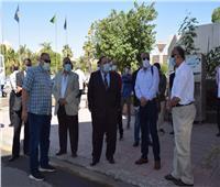 رئيس جامعة حلوان يتابع الإجراءات الاحترازية والوقائية لمواجهة كورونا