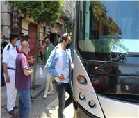 وزير النقل يوجه قيادات السوبرجيت بمتابعة إرتداء الركاب للكمامات |صور