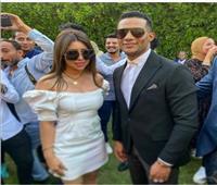 الصور الأولى من حفل زفاف شقيقة محمد رمضان