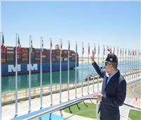 قناة السويس تسجل عبور 1601 سفينة خلال مايو