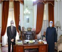وزير الأوقاف ومحافظ جنوب سيناء يناقشان إعادة فتح المساجد بجنوب سيناء