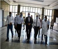 محافظ القليوبية يتفقد مستشفى كفر شكر المركزيتمهيدا لافتتاحه