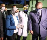 وزيرة الصحة: 65 قافلة طبية لصرف أدوية كورونا بالقاهرة وخط ساخن لكل محافظة