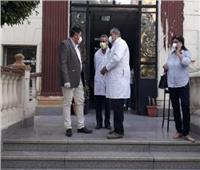 نائب محافظ القاهرة يتفقد مستشفى اليوم الواحد بروض الفرج