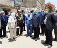 وزير التنمية المحلية يتابع إزالة الاشغالات بمحيط مستشفى ٥٧٣٥٧