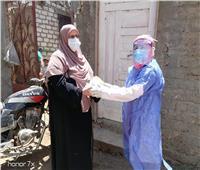 صور| صحة المنوفية: توزيع الأدوية على مصابي كورونا بالعزل المنزلي مجانا