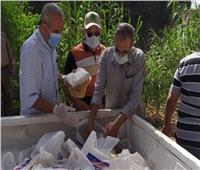 المنوفية تطلق مبادرة لتوزيع وجبات طازجة ومواد غذائية على أسر العزل المنزلي