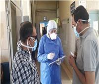 نائب محافظ القاهرة يتفقد مستشفى شبرا والخزندارة