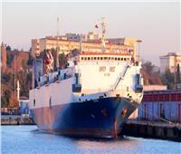 الجيش اللليبي يرصد سفينة شحن تركية محملة بدبابات في ميناء مصراتة