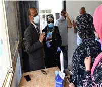 إجراءات مشددة على بوابات جامعة قناة السويس لمجابهة فيروس كورونا