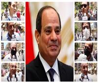 فيديو| بعد 6 سنوات من الحكم.. الشعب للرئيس السيسي: «شكرا لابن مصر البار»
