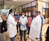 محافظ مطروح يتفقد المستشفى العام للاطمئنان على توافر المستلزمات الطبية