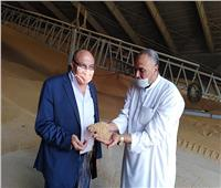 وكيل وزارة التموين يتفقد صوامع القمح بالإسكندرية
