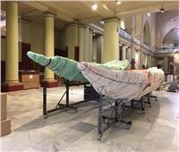 متحف شرم الشيخ يستقبل 3 قطع أثرية كبيرة