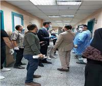 نائب محافظ القليوبية يتفقد مستشفيات شبرا الخيمة وتوافر الخدمات الطبية