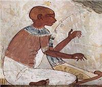 حكاية فرعونية| صورة «عازف قيثارة»تحمل أخلاق وسلوكيات المصريين القدماء