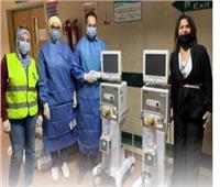 «مصر الخير» تدعم المستشفيات بـ28 جهاز تنفس صناعي و2000 كاشف سريع