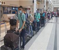 صور| بدء رحلات عودة المصريين العالقين بلبنان