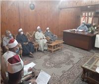 استمرار أعمال التطهير والتعقيم للمساجد بالمنيا