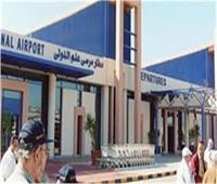مطار مرسى علم يستقبل رحلة طيران قادمة من جدة على متنها 166 مصريا