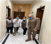 نائب محافظ القاهرة يتفقد المستشفى القبطي بالوايلي