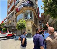 نائب محافظ القاهرة يشن حملة لإزالة المخالفات بحي الموسكي