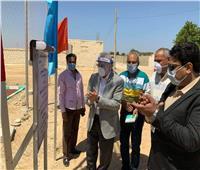 محافظ جنوب سيناء يتفقد عدد من المشروعات برأس سدر