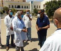 محافظ مطروح يتفقد مستشفى الصدرللتأكد من توافر الأدوية والمستلزمات الطبية