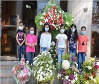 زهور محافظ الدقهلية لأطفال دار الفضل للأيتام